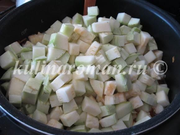 заготовка вкусная из кабачков на зиму