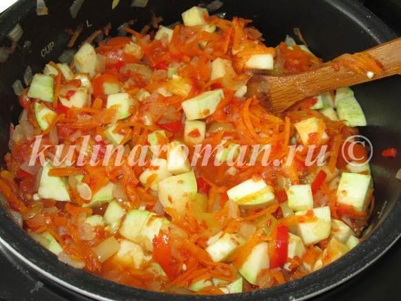 вкусный салат из кабачков на зиму