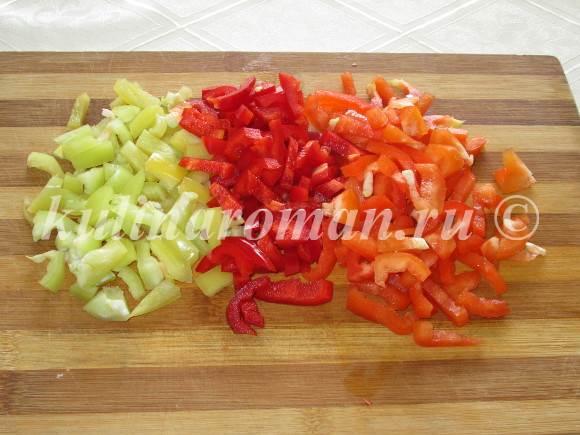 салат с болгарским перцем на зиму