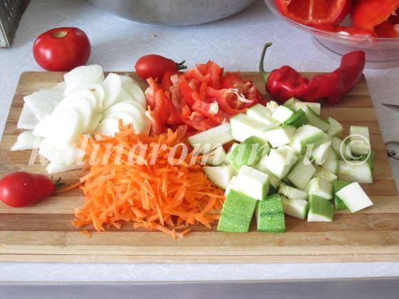 салат на зиму из кабачков