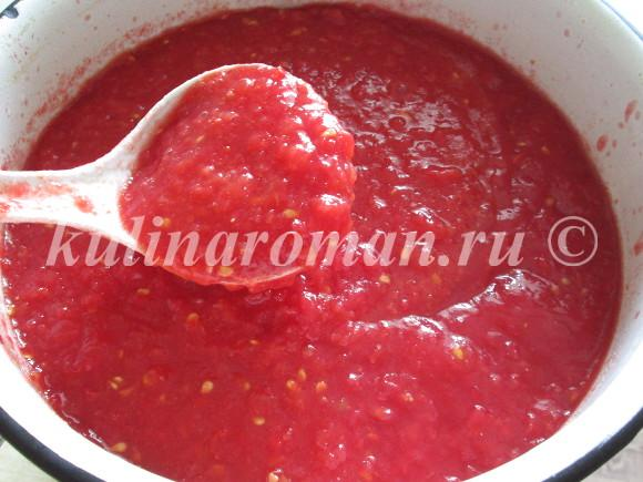 лечо с помидорами