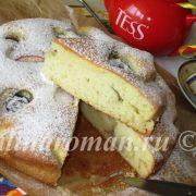 сливовый пирог пошаговый рецепт