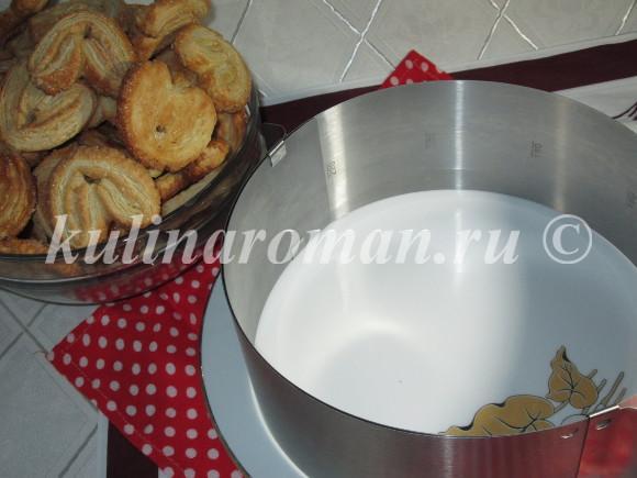 торт наполеон без выпекания