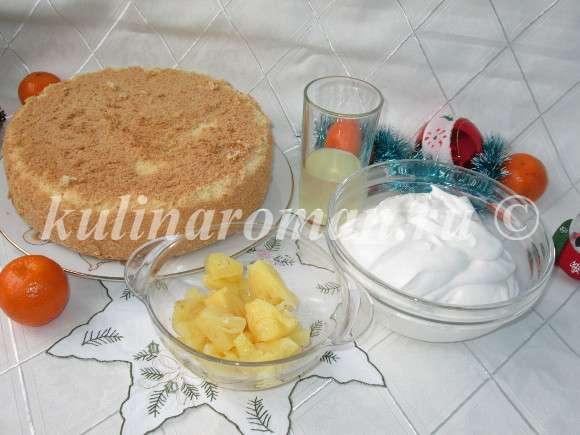 новогодний торт продукты