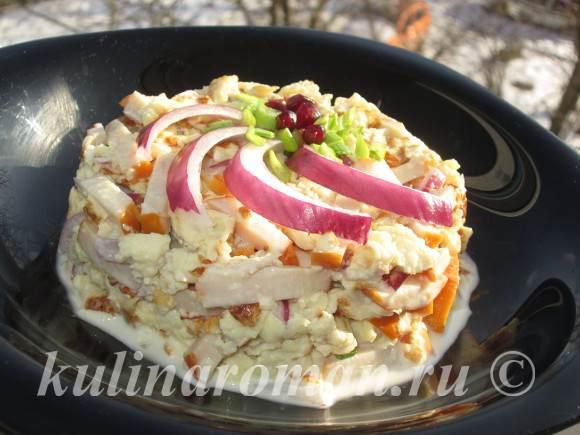 салат с омлетом пошаговый рецепт