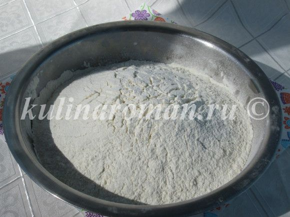 сдобное тесто для козонака