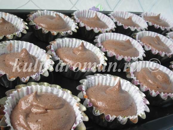 вкусные кексы рецепт