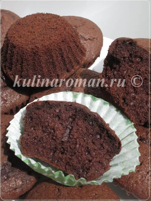 Шоколадный кекс на раз два три