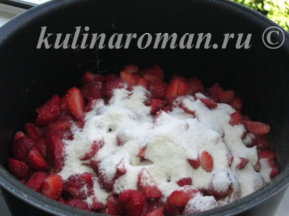 как приготовить клубничный джем