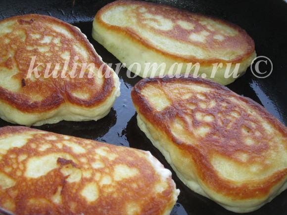 оладушки на кефире вкусный рецепт