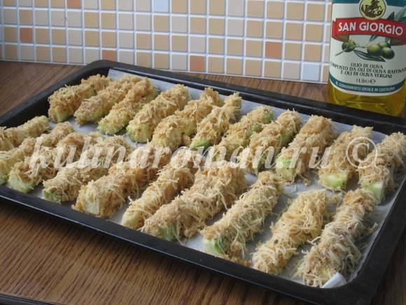 кабачки с сыром рецепт с фото