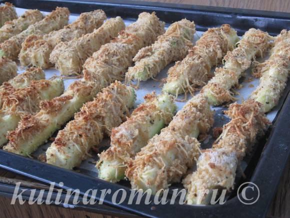 кабачки в духовке пошаговый рецепт