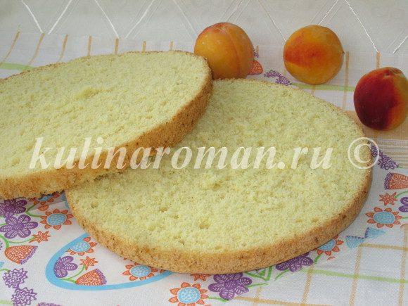 бисквит на желтках рецепт с фото