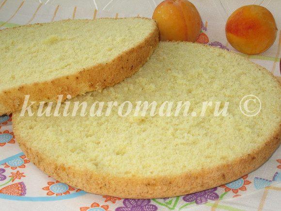 высокий и пышный бисквит рецепт