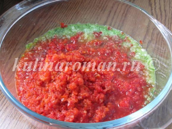 помидоры в заливке на зиму