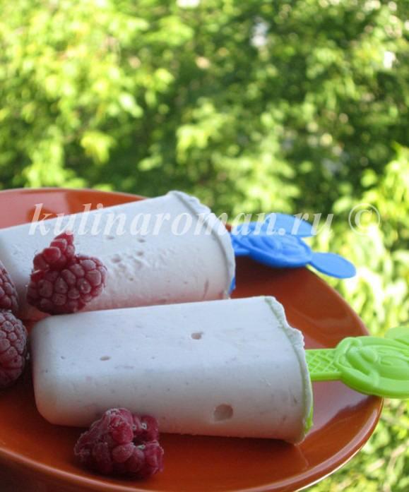мороженое в домашних условиях из сливок