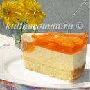 персиковый желейный десерт