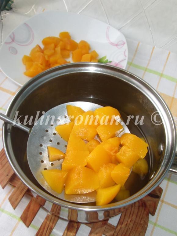 что приготовить с персиками