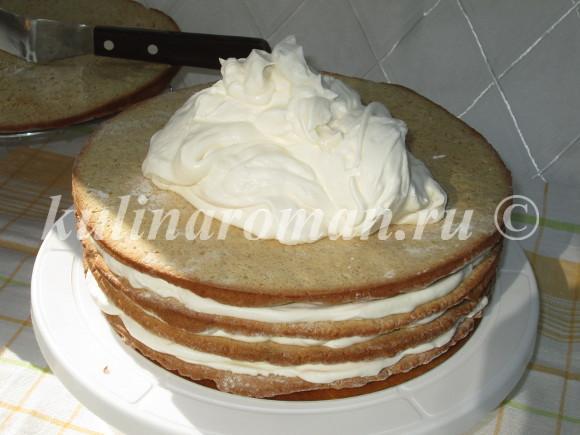 вкусный торт с медом рецепт
