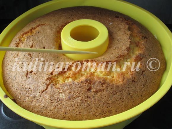 морковный пирог пошаговый рецепт