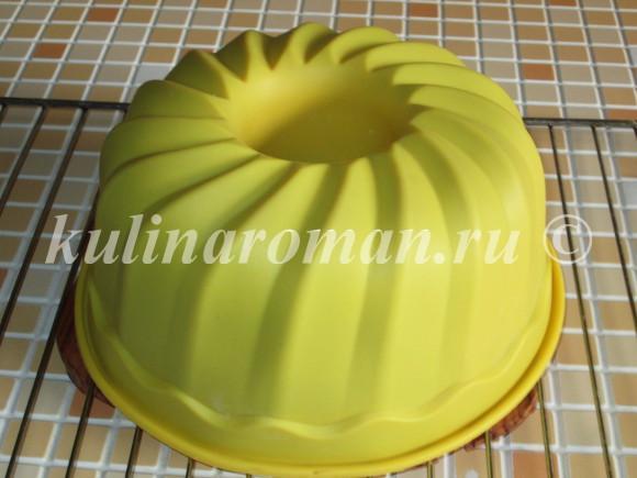 пирог в форме силиконовой