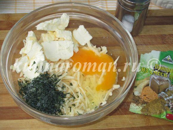 сырные клецки рецепт