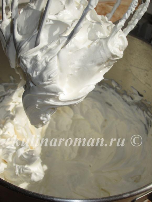 сырный крем для торта со сливками