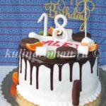 Торт на 18 лет