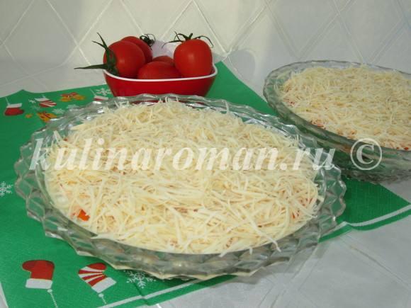 разравниваем сыр
