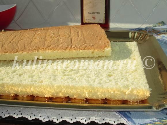 бисквит для торта тирамису
