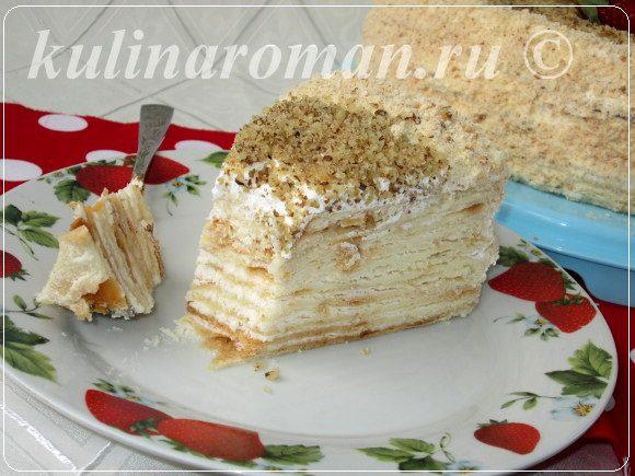 вкусный торт из сметаны