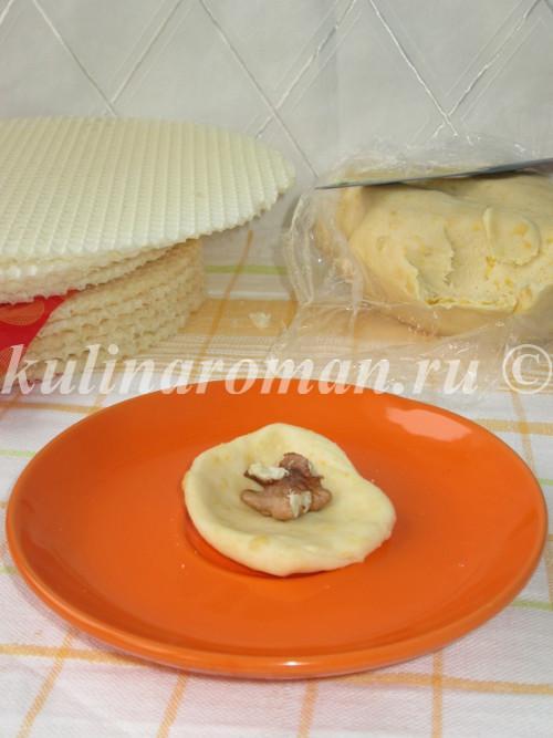 печенье с орехом