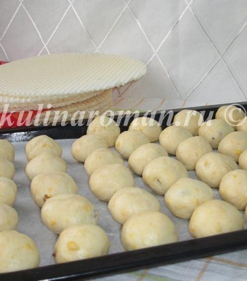 трюфели печенье