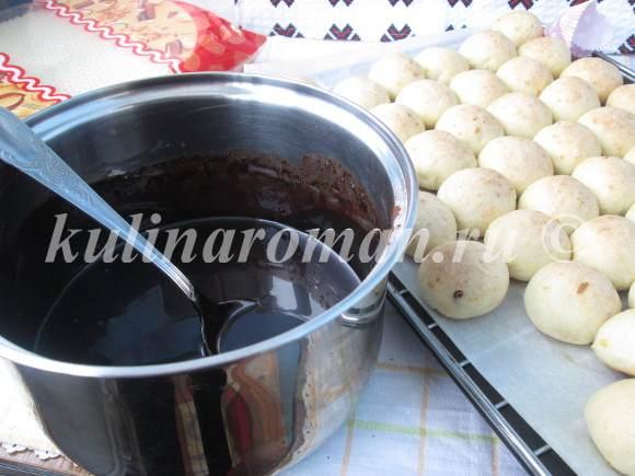 трюфели в шоколадной глазури