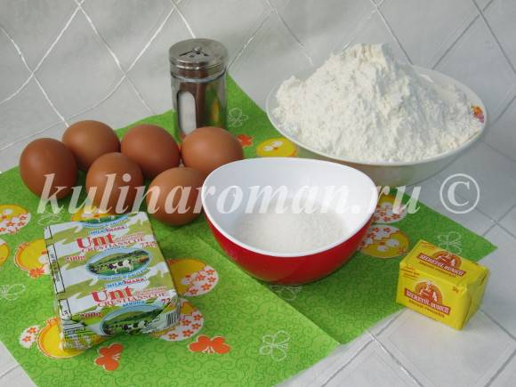 продукты для булочек бриошь