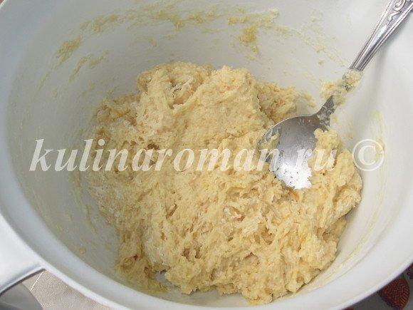 замешиваем тесто сдобное