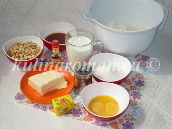 продукты для пасхальной выпечки