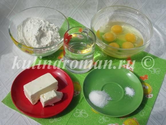 продукты для заварного теста