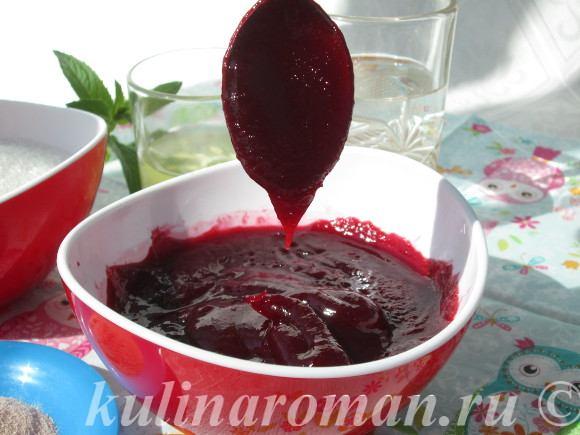 вишневый зефир рецепт
