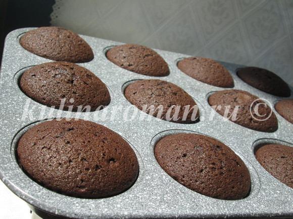 вкусные шоколадные капкейки