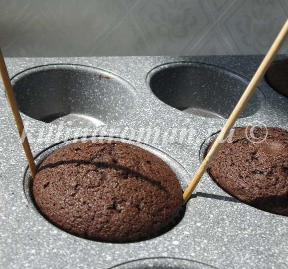 кексы на шоколаде