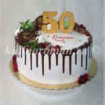торт на юбилей 50