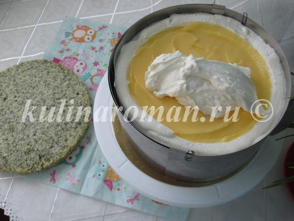 как приготовить маковый торт