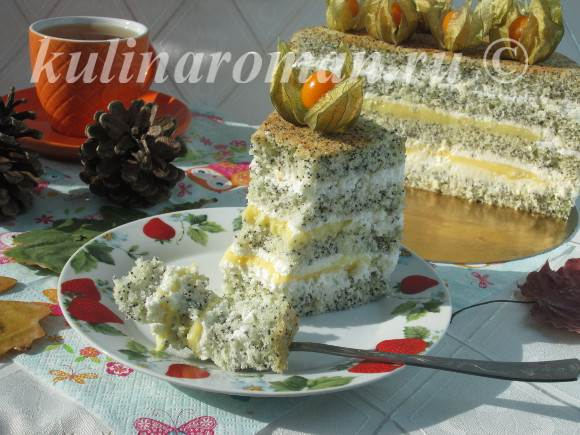 торт с физалисом