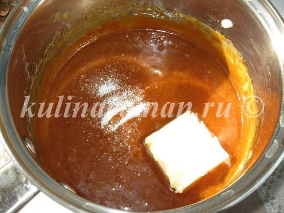 как приготовить карамель