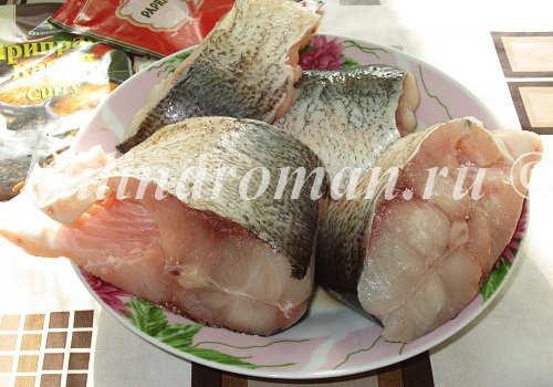 гнездышки из рыбы