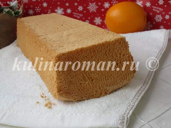 рецепт бисквита с фото