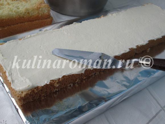 вкусный торт на новый год