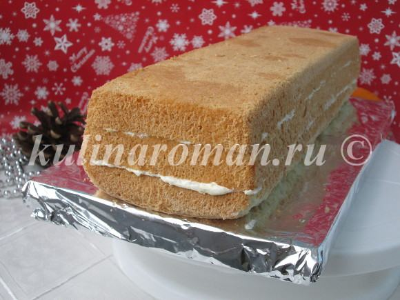 рецепт торт сказка