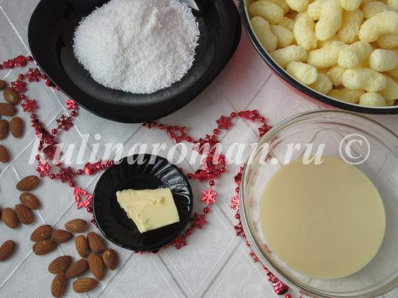продукты для конфет рафаэлло